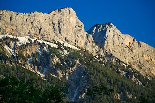 Grosser and Kleiner Weitschartenkopf, Reiteralpe, Berchtesgaden Alps