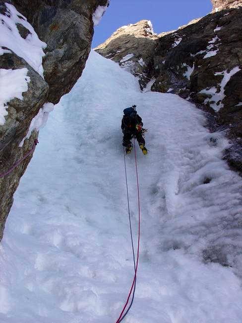 The last 40 metres! Very nice...