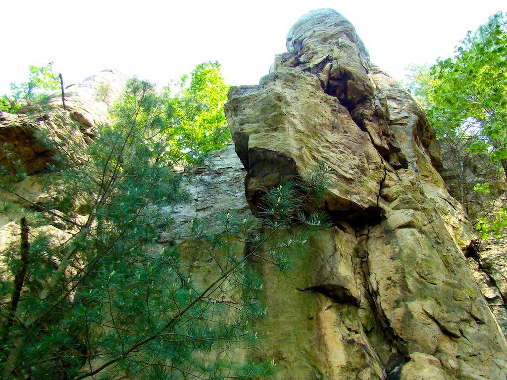 Castle Mound Summit Block