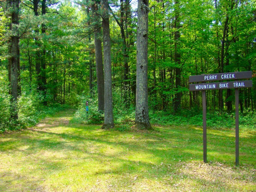 Castle Mound Mountain Bike Trail