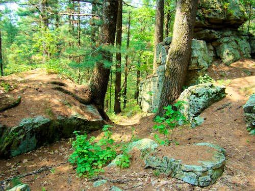 Castle Mound Natural Doorway