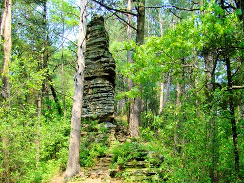 Castle Mound Rock