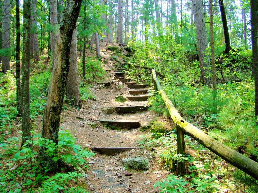 Castle Mound Stairway