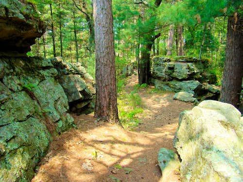 Castle Mound Summit Ridge Route