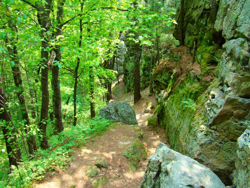Castle Mound Summit Ridge Trail