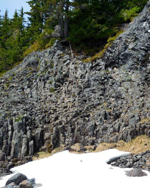 Boulder Glacier scramble