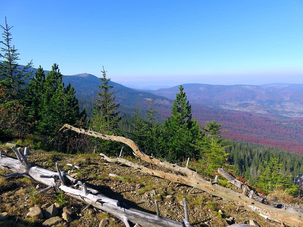 Nice view to Mała Babia Góra