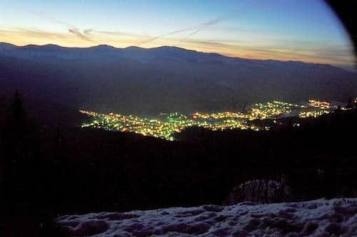 town busteni