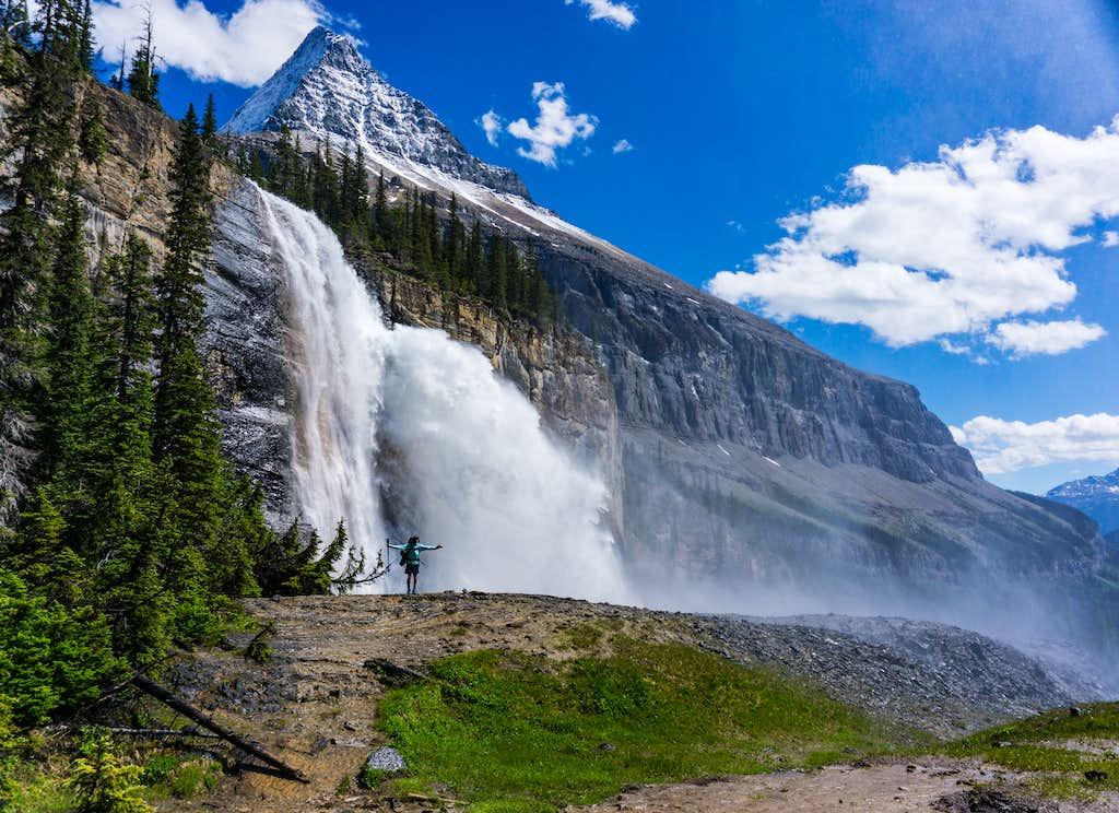 King Falls, Mount Robson