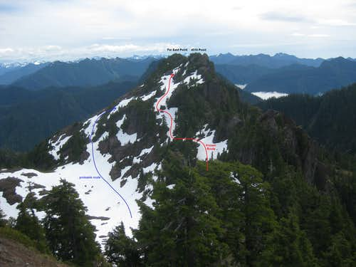 Eastern Summits fr Lookout Summit