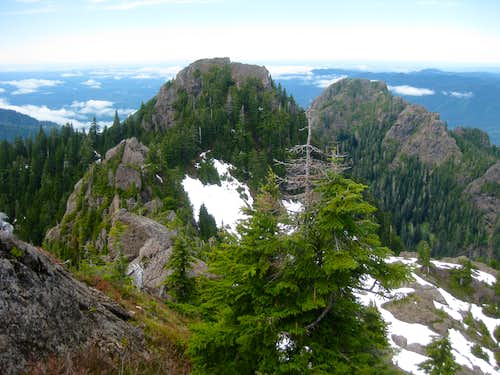 Lookout summit from 4510