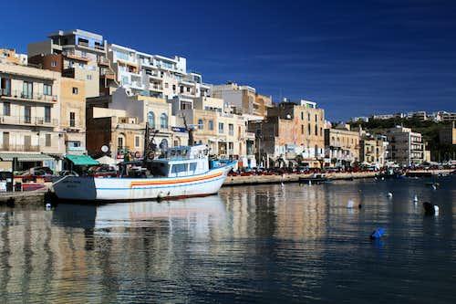 Hiking Malta's coastal paths. Marsaskala