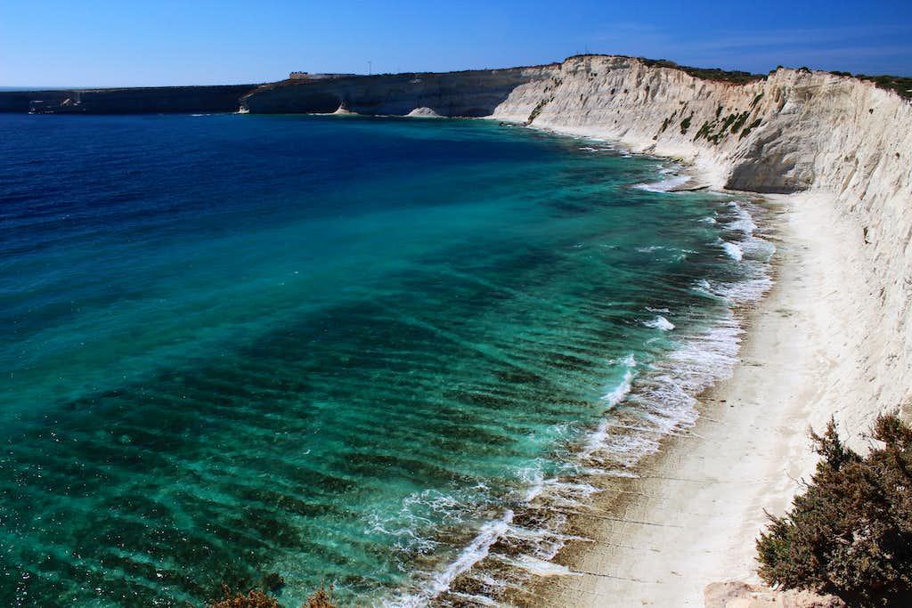 Hiking Malta's coastal paths