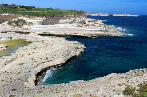 Hiking Malta's coastal paths - Marsaskala to Birzebbuga