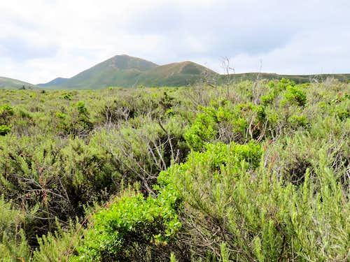 Valencia Peak from near trailhead