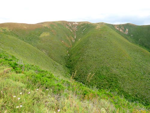 Summit of Hazard Peak