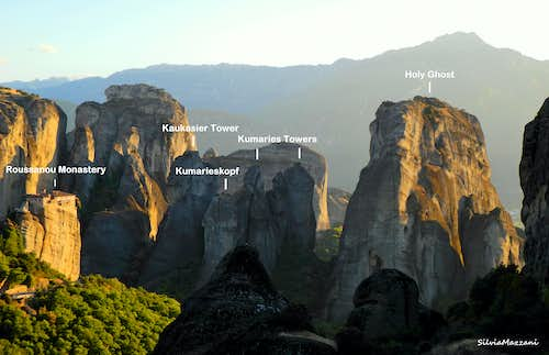 Meteora Holy Ghost Group annotated panorama