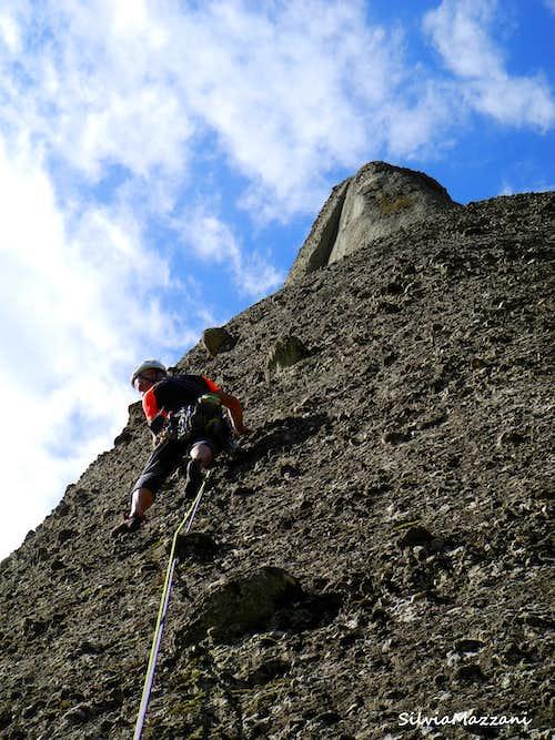 Hartetest starting wall, Meteora