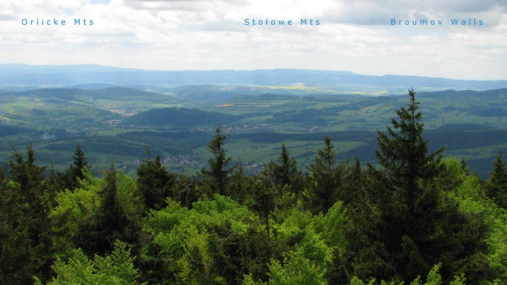 SW view from Kalenica
