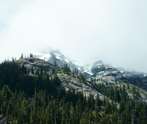Chikamin's hidden peak