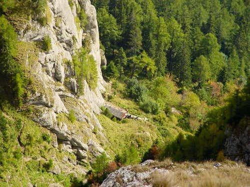Climbers hut Costila