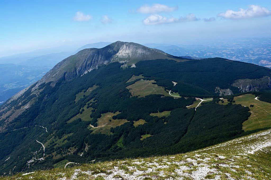 Monte Acuto from Monte Catria
