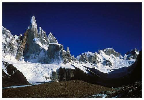 Cerro Torre 3128 m. Nice...