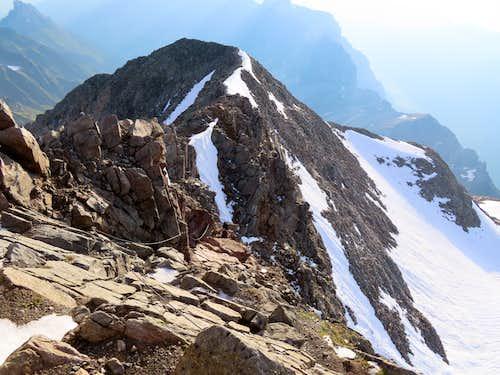 Habicht Descent From Summit