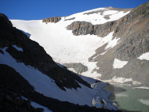 Snow Conditions Early August 2011