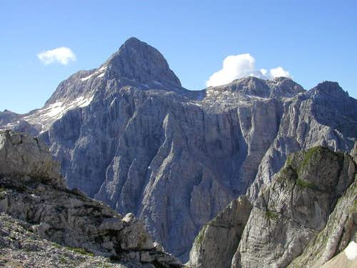 Triglav view from the plateau...