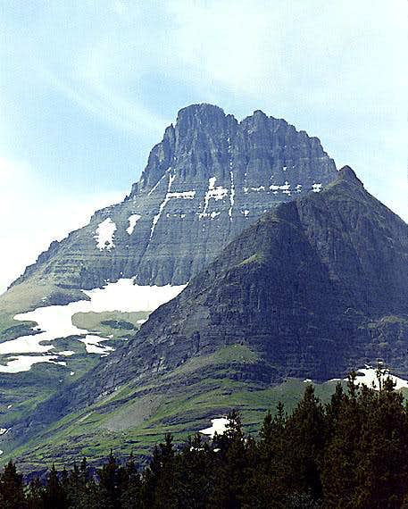 Mount Wilbur from the east.