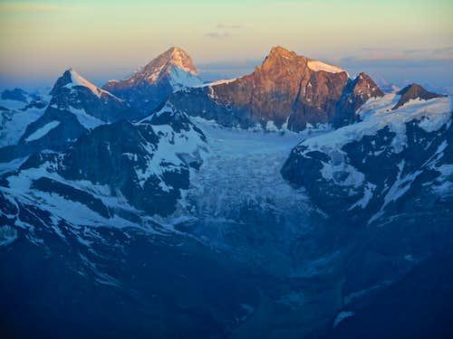 Ober Gabelhorn, Dent Blanche, Zinalrothorn