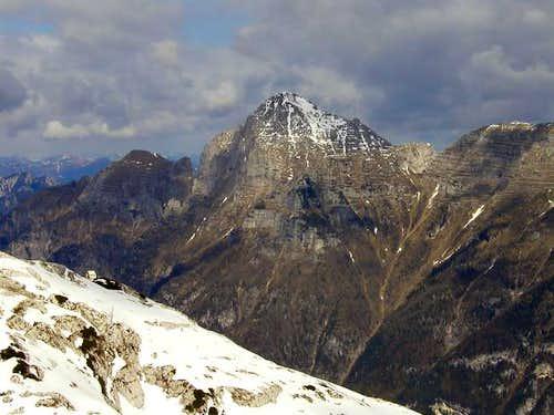 Monte Cimone/Strma pec seen...