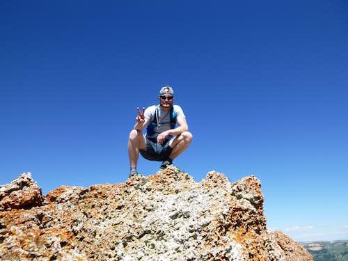 Antelope Butte Summit!