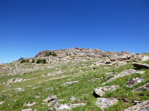 Summit ridge of Bruce Mountain