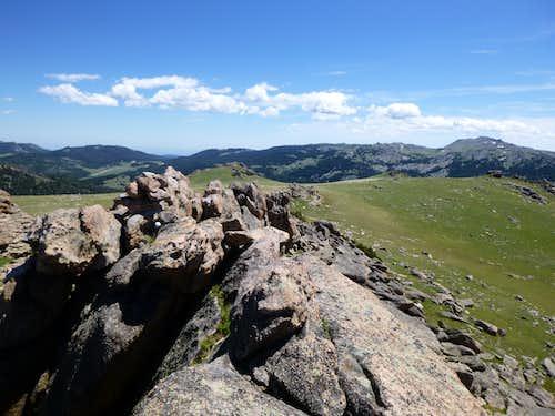 Summit of Bruce Mountain