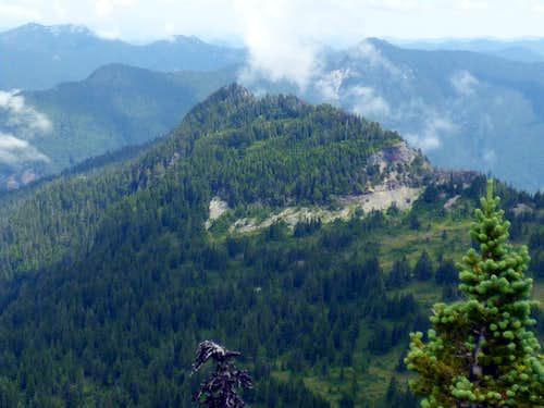 Irish Cabin Peak