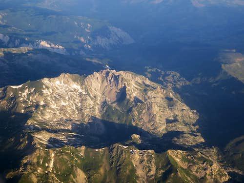 Mountains of east Albania