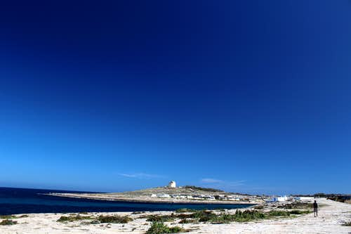 Marfa peninsula - The White tower