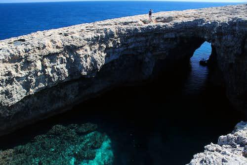 Marfa peninsula - Coral lagoon