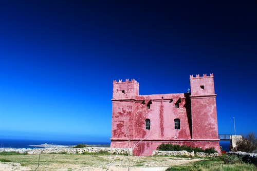 Marfa peninsula - The Red, White and blue!