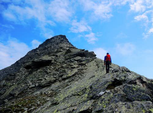 Climbing Picco Palù (Grosser Moostock)