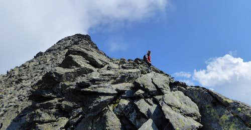 Picco Palù - Grosser Moostock SW ridge