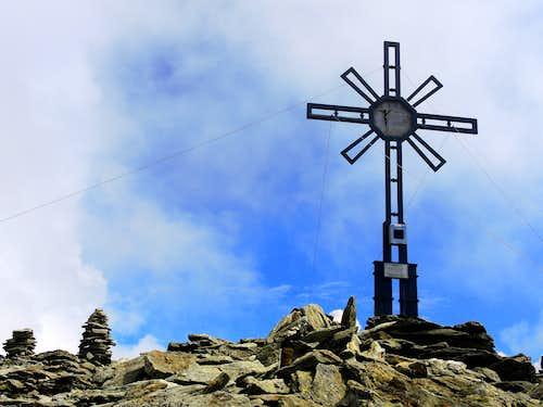 Picco Palù - Grosser Moostock summit cross