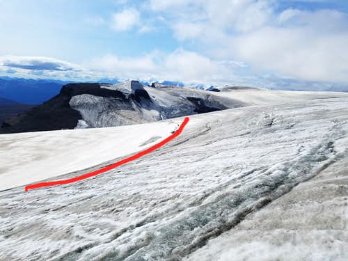 Hole in the Wall Glacier