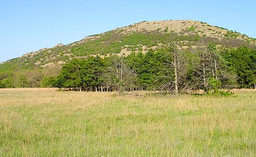 Mount Wall as seen from the...
