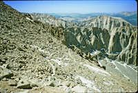 27. Climbing Mt. Whitney - junction of John Muir and Mt. Whitney trails