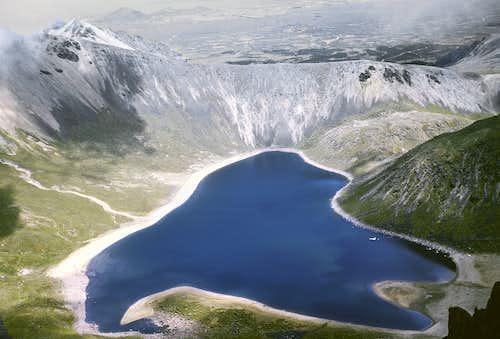 78. Nevado de Toluca - view into crater from south rim