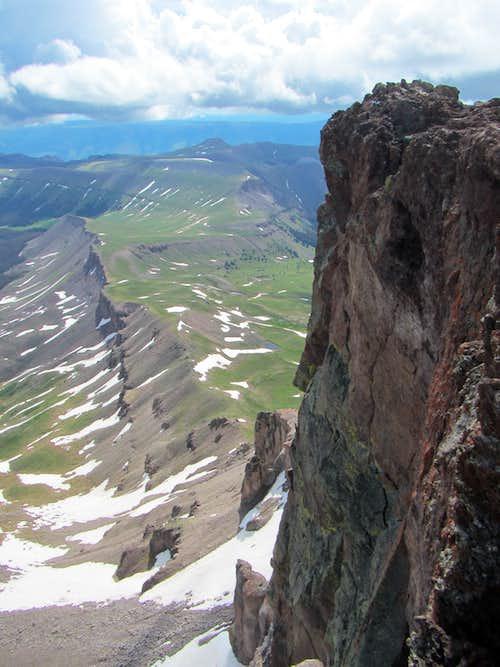 Uncompahgre Peak, San Juan Mts, Colorado