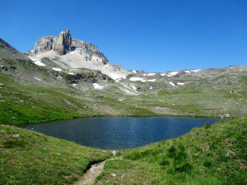 Lac Long de Sainte Marguerite